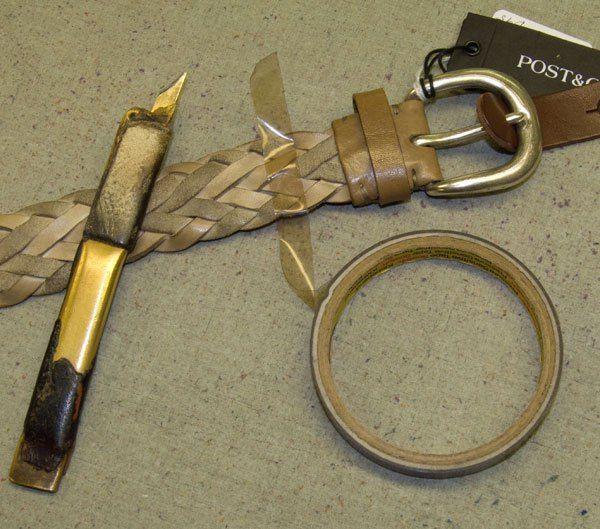 How to shorten your leather belts  http://www.pierotucci.com/en/italian-online-shop/80-0/Italian-Leather-Belts-for-men.html
