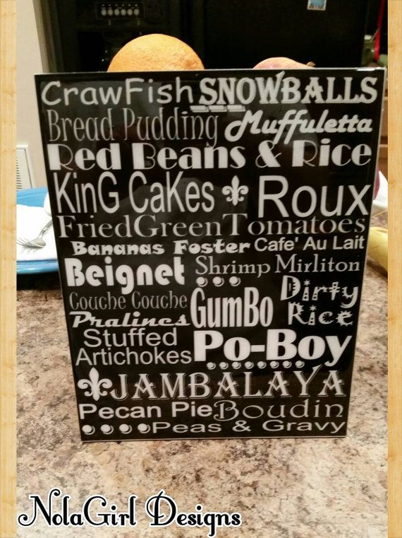 Cajun Style Kitchen Decor