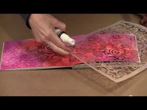 ▶ 12 New Joggles Stencils & 12 Techniques - October 2013 - YouTube