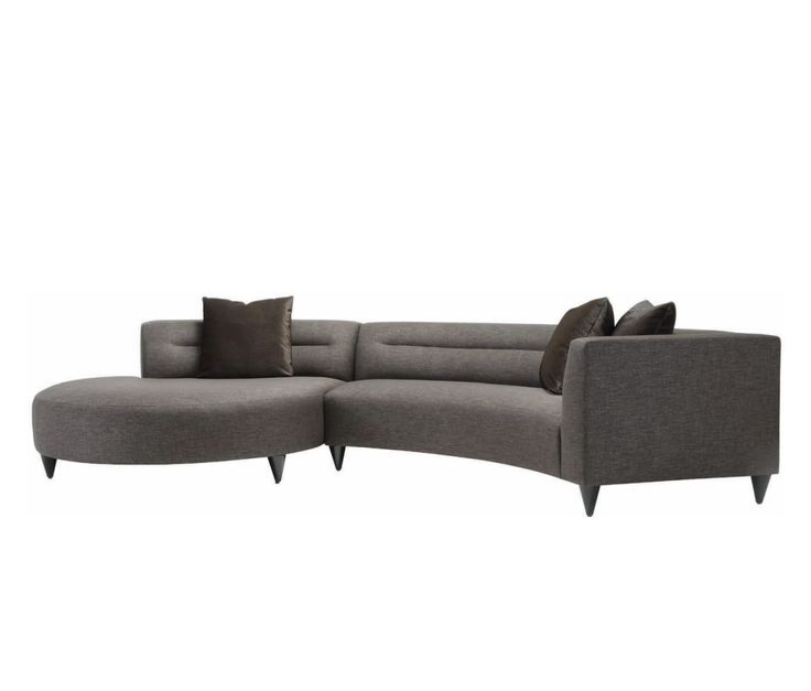 Awesome Lazar Calcutta Gray Upholstered Sectional Sofa With Accent Pillows