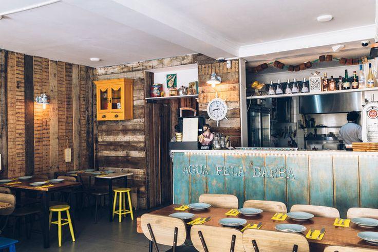 Agua Pela Barba--my favorite seafood restaurant in Lisbon!