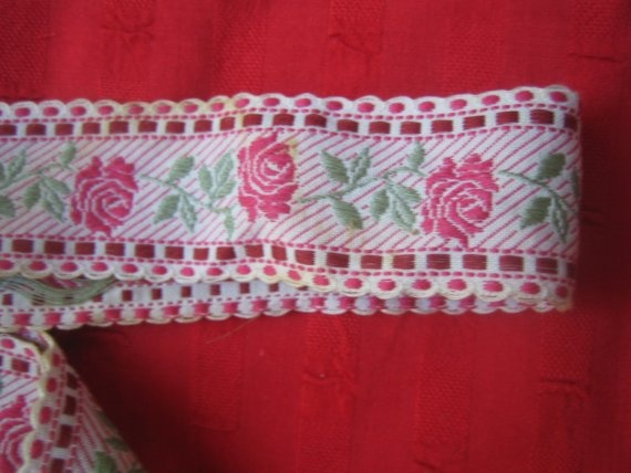 $5.99  embroidered trim