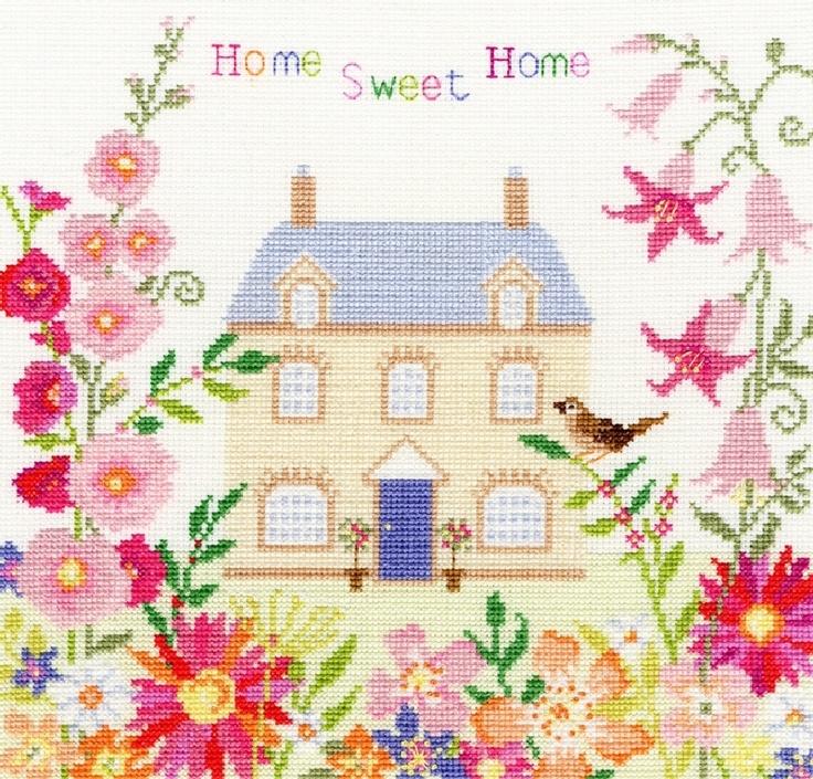 Home Sweet Home cross-stitch