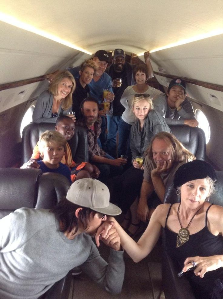 Norman Reedus and The Walking Dead cast, I want season 5!
