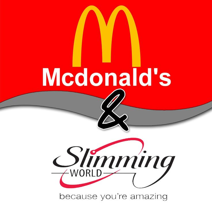 Slimming World McDonalds Syn Guide