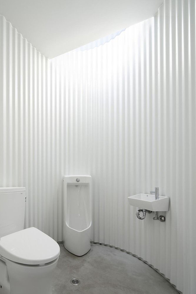 Gallery of isemachi public toilet kubo tsushima architects 9 toilets public and galleries Public bathroom design architecture