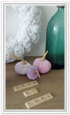 CREA by THEA: Pompoenen van stof