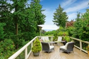 Some people are surprised to learn that adding a #deck to their home can actually lower their home's #property #value. http://goo.gl/MJLgCZ