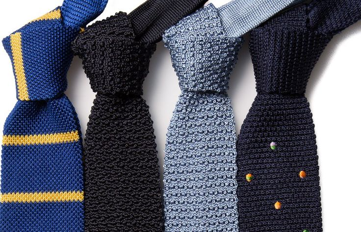 The Knitted Tie: A Thing of Beauty