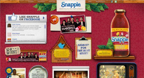 Snapple-15-Eye-Catching-Food-Beverage-Ecommerce-Website-Designs