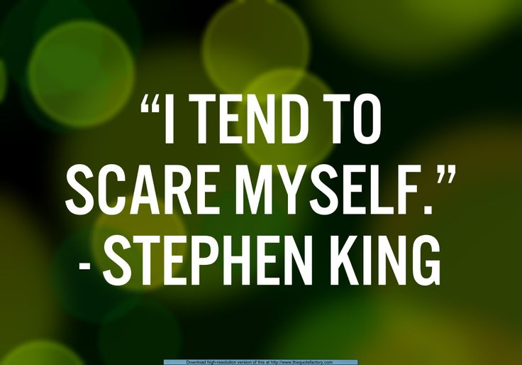 scaring yourself is actually one of the smartest things you can do in the midst of writing text meant for none other than yourself.