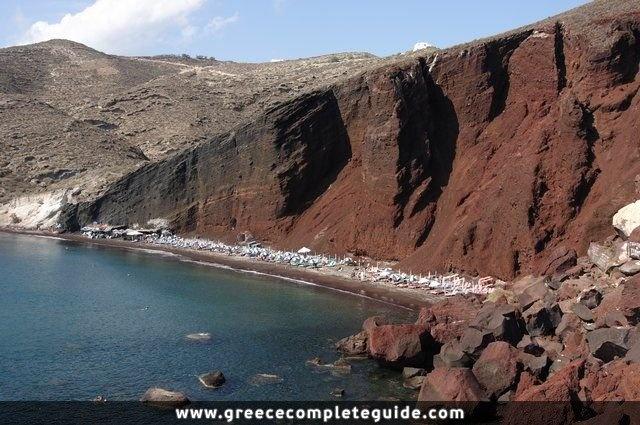 Red Beach - Santorini - #Cyclades
