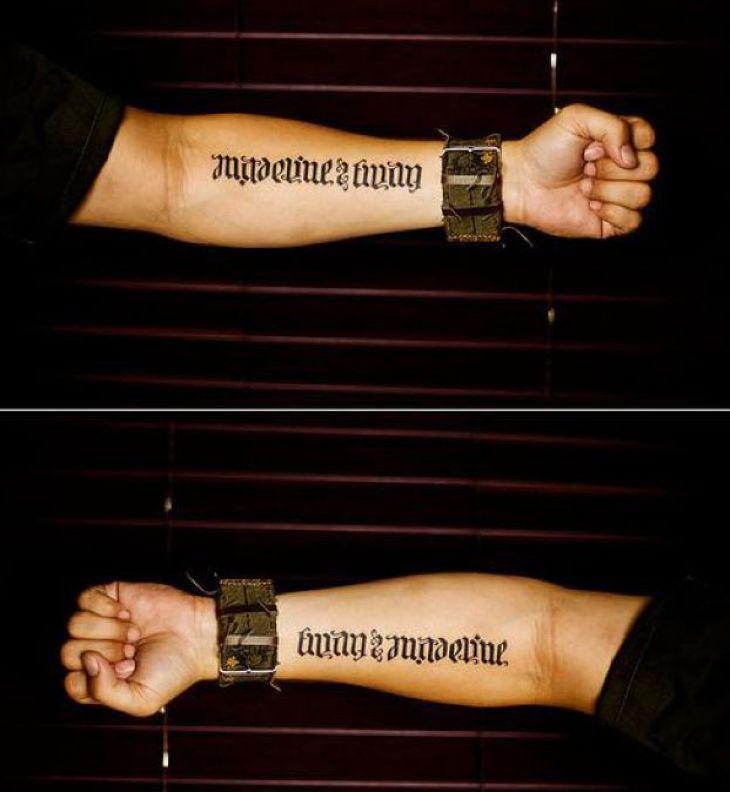 1000+ Ideas About Ambigram Tattoo Generator On Pinterest