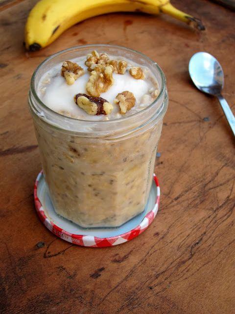 The Oatmeal Artist: Banana Cream Pie Overnight Oatmeal: Banana Cream Pies, Oatmeal Artist, Healthy Oatmeal Recipe, The Oatmeal, Food, Breakfast, Overnight Oatmeal Recipe, Overnight Oats