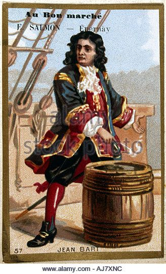 Jean Bart French privateer and naval officer 19th century  - Stock Image