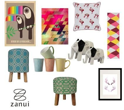 Quirky Prints with Zanui by Zanui on Set That -