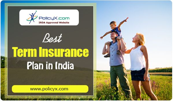 You can get best term plans in India buy comparing policies from top life insurance companies and can choose the desired term plan to secure your family's happiness. http://www.policyx.com/life-insurance/compare-term-plan.php
