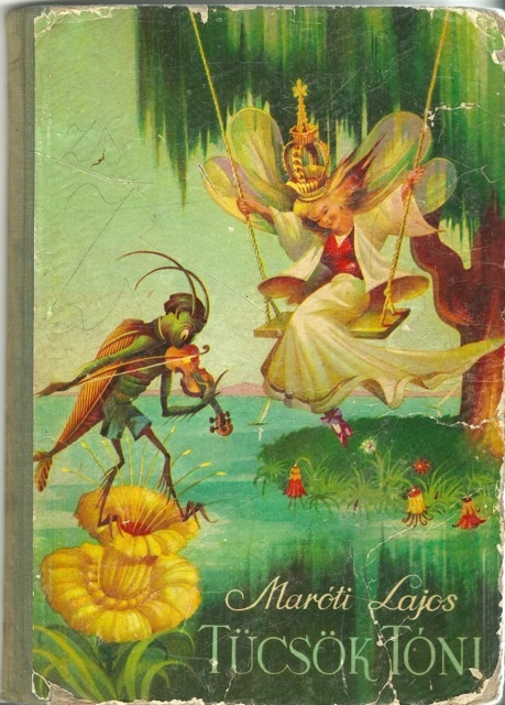 Vintage Hungarian children's book <3