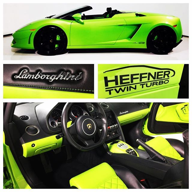 FOR SALE - 2011 Lamborghini Gallardo Spyder Heffner Twin-Turbo, Heffner 1,000 hp twin-turbo package installed by Heffner Performance, 10,283 miles, fresh service. • See www.Highline-Autos.com for listing details and photos. Link in bio #lajollalocals #sandiegoconnection #sdlocals - posted by Highline Autos  https://www.instagram.com/highlineautos. See more post on La Jolla at http://LaJollaLocals.com