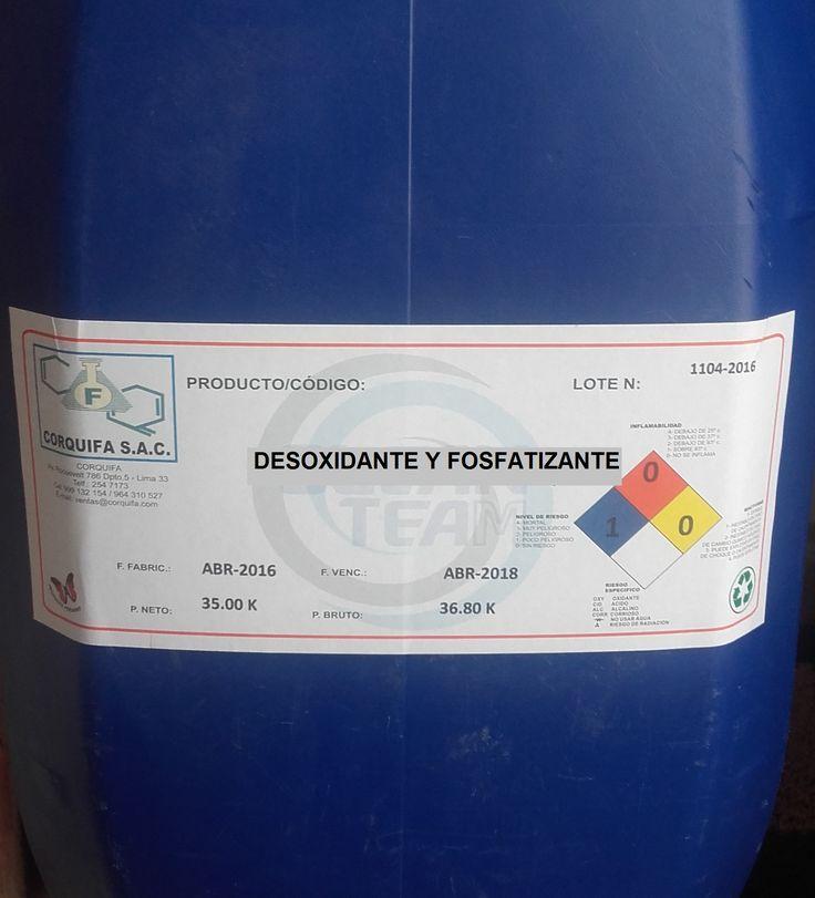 Es un limpiador ácido con propiedades desengrasantes y acción fosfatizante. Es un producto formulado con una mezcla detergente / solvente en medio ácido, para proporcionar en un solo paso una acción sinérgica de limpieza, remoción de herrumbre y dejar una capa de fosfatizado en láminas y piezas de metal.  Es un producto altamente ácido, lo cual facilita la remoción de residuos calcáreos, óxido y corrosión, dejando las superficies metálicas especialmente preparadas para aplicar.