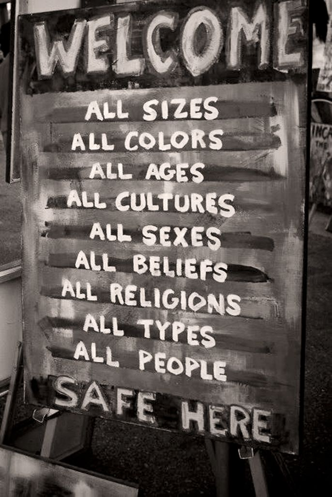Safe here!