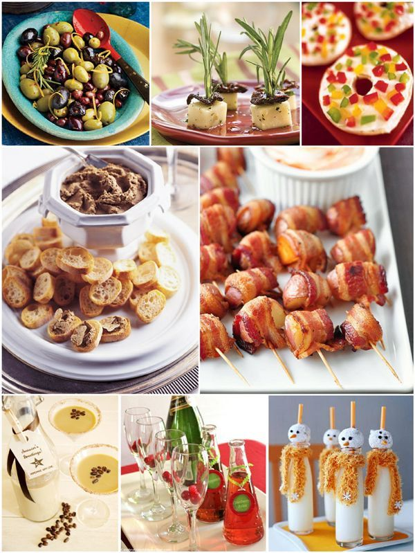 Christmas Party Easy Appetizers and Holiday Cocktails in