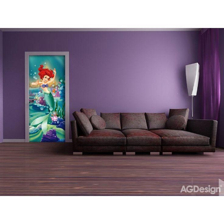 Ariel a kis hableány álló poszter (90 x 202 cm)