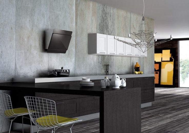 Oltre 25 fantastiche idee su cappa cucina su pinterest - Cappa cucina nera ...