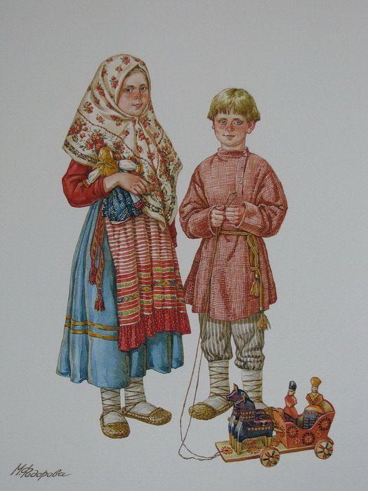 Владимирские детишки  Марина Федорова