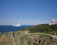 View of Iceberg from Long Point Lighthouse, Twillingate