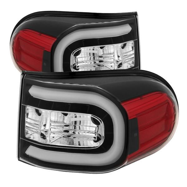 ( Spyder ) Toyota FJ Cruiser 07-13 Light Bar LED Tail Lights - Black These tail lights greatly enhance the look of your vehicle. Want to have a show car look? O
