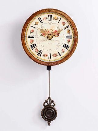 Maison De Flokette Sallangaçlı Duvar Saati