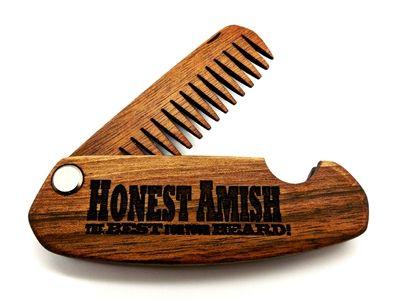 Honest Amish Beard Comb