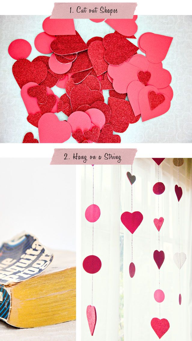 Cheap decoration for Valentine's Day