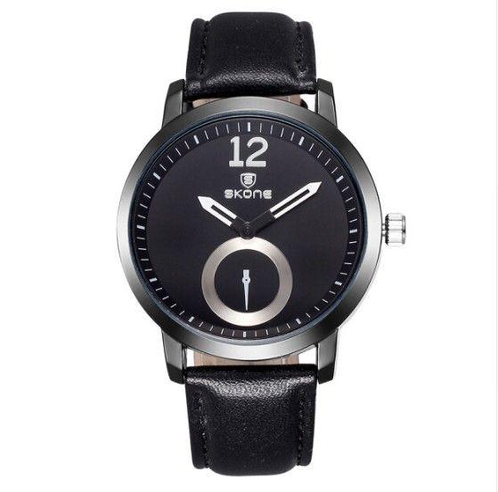 Pánské voděodolné hodinky Skone černé- pánské hodinky Na tento produkt se vztahuje nejen zajímavá sleva, ale také poštovné zdarma! Využij této výhodné nabídky a ušetři na poštovném, stejně jako to udělalo již velké množství spokojených …
