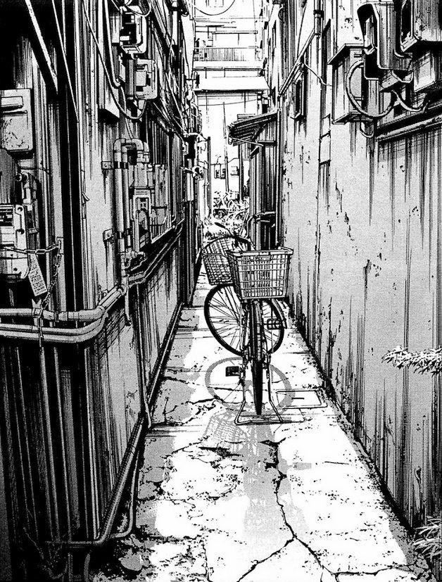 Artista de mangás faz desenhos incrivelmente detalhados de cenários urbanos japoneses