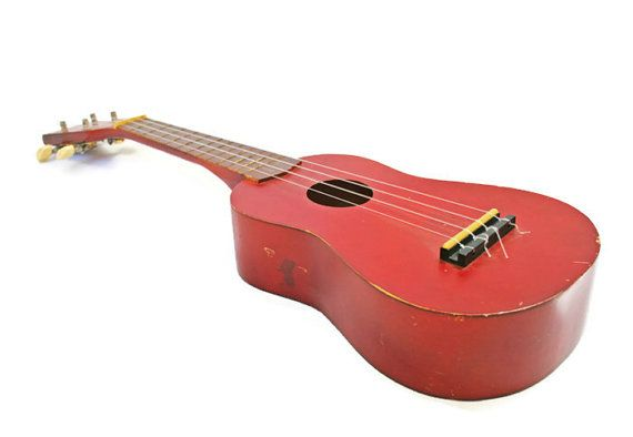 Vintage Ukulele Musical Instrument by BlueMoonCollectibles on Etsy