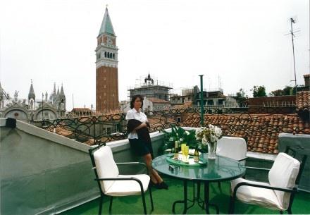 Venecia: Un hotel económico y con vista a la catedral