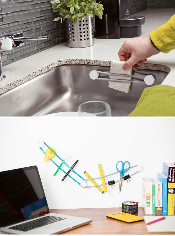 A different way to secure loose stuff around the house. | 24 Household Items You Won't Believe You Don't Own Yet