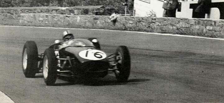 1960 Belgian GP, Spa : Alan Stacey, Lotus-Climax 18 #16, Team Lotus, Retired (fatal crash, lap 24). (ph: deviantart.com)