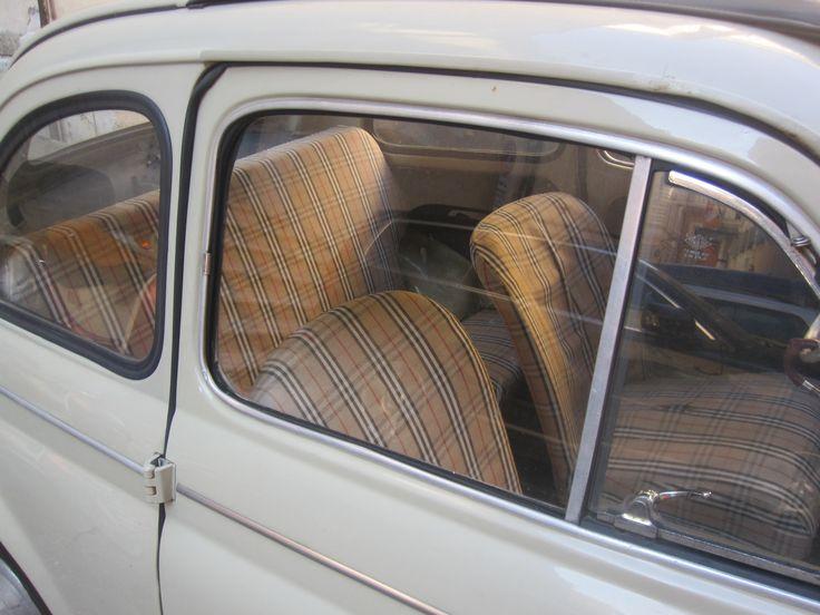 Fiat i Rom - klädsel a la Burberry