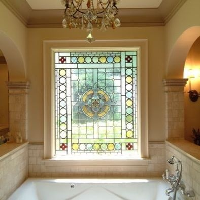 Marvelous 47 Best Bathroom Stained Glass Images On Pinterest | Stained Glass Windows, Bathroom  Windows And Glass Bathroom