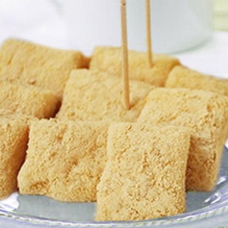 "INJEOLMI (Korean sweet rice cake) [""Repinned by Keva xo""]"