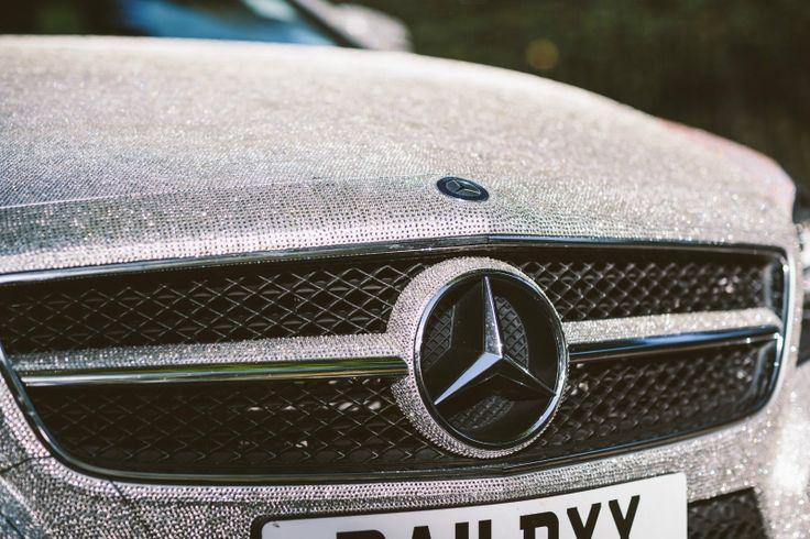 #Mercedes-Benz CLS350 covered with1 #Million #Swarovski #Crystals for #sale on #eBay | RandomlyNew