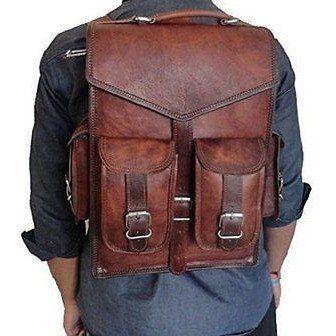2-in-1 Messenger Backpack Rucksack Laptop Bag