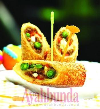 :: Ayahbunda :: Artikel :: Roti Gulung isi Sayur ::
