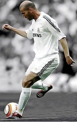 Zinedine Zidane (Real Madrid CF, 2001–2006, 155 apps, 37 goals)