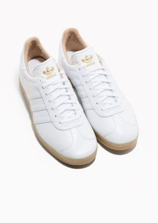 & Other Stories image 2 of Adidas Gazelle in White