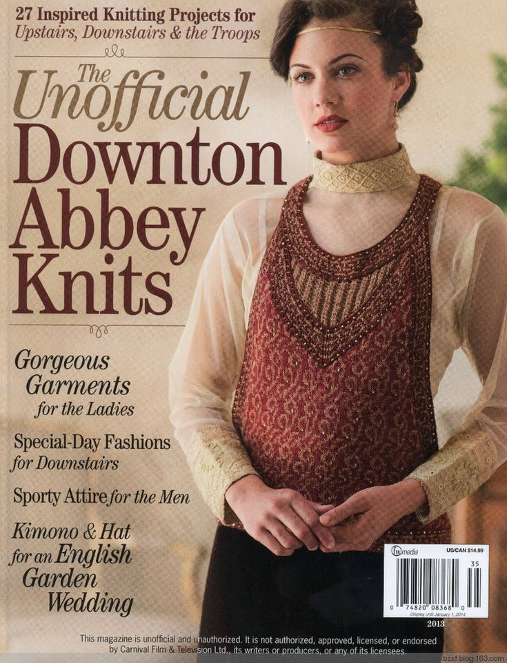 The Unofficial Downton Abbey Knits 2013 - 编织幸福 - 编织幸福的博客