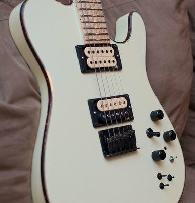 Carvin electric guitar TL60 dimarzio pickups and fishman piezo